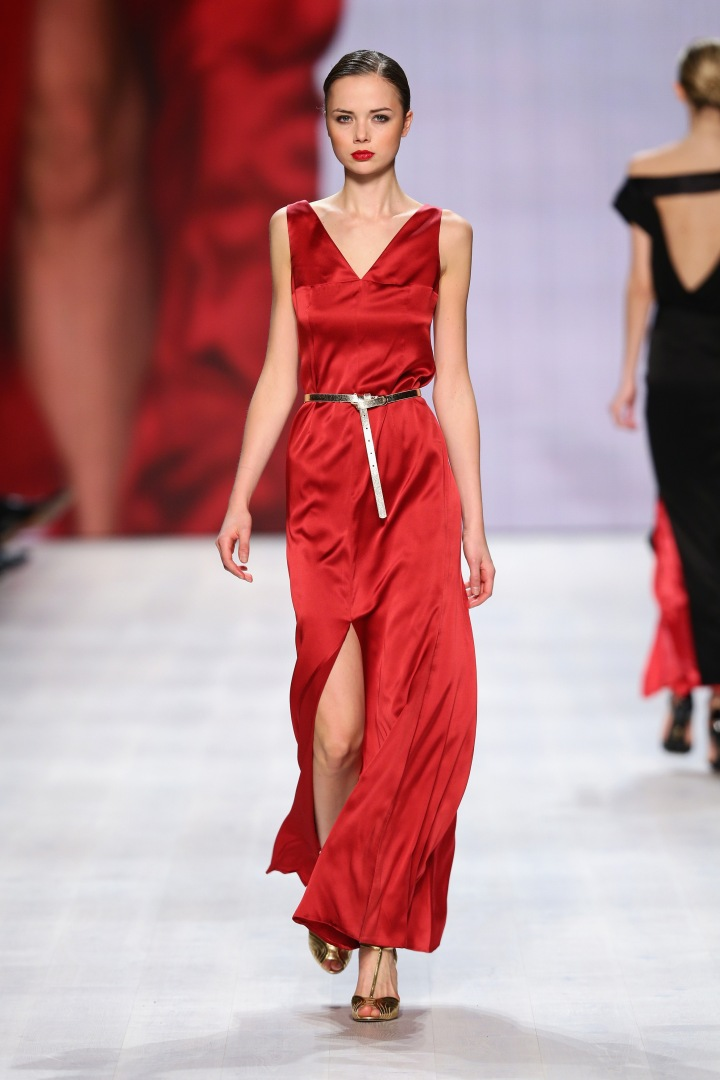 Aziza Zina - Mercedes-Benz Fashion Days Zurich 2014
