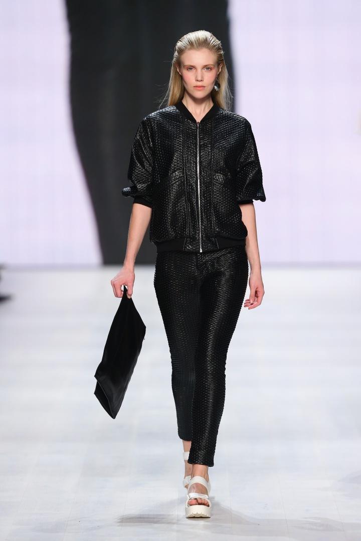 Stefanie Biggel - Mercedes-Benz Fashion Days Zurich 2014