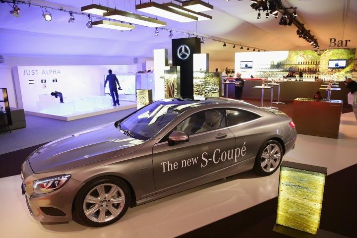 Sponsor Installations - Mercedes-Benz Fashion Days Zurich 2014
